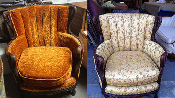 Before and After Upholstery