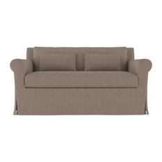 Tandem Arbor - Ludlow 5' Linen Sofa, Pumice Classic Depth - Sofas