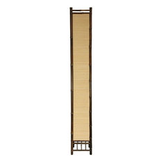 "67"" Kojima Japanese Bamboo Floor Lamp"