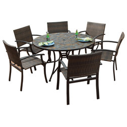 Trend Tropical Outdoor Dining Sets by Home Styles Furniture