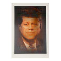 Jean-Pierre Vasarely, aka Yvaral, John F. Kennedy, Serigraph
