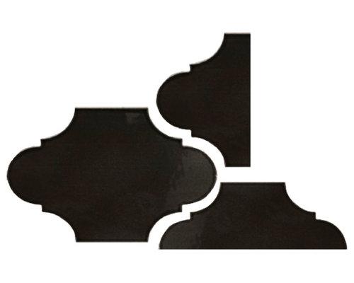 UP1826BLKP Black Plain - Wall & Floor Tiles