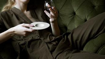 Coppia Perfetta - bicchiere e piattino