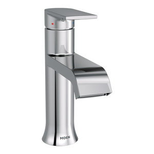 Moen Genta Chrome 1-Handle Bathroom Faucet