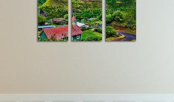 16x24 Canvas Triptych, Road To Hana, Maui, Hawaii