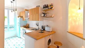 Rénovation d'un appartement de 45 m2