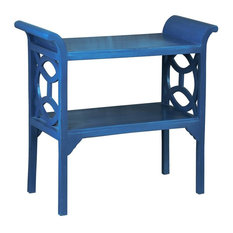 Blue Accent Table and Console Blue