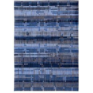 Rockefeller Rug, Blue, 140x200 cm