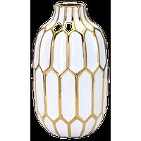 Flynn Vase, White, Medium