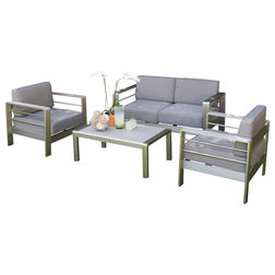 Elegant Contemporary Outdoor Lounge Sets by GDFStudio