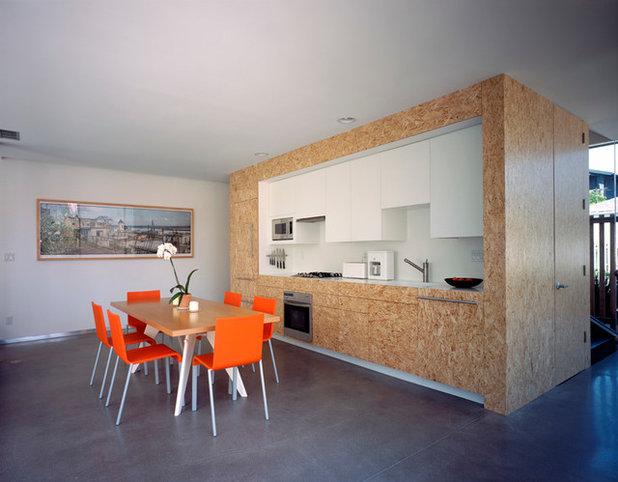 Moderno Cucina by Deborah Richmond Architects
