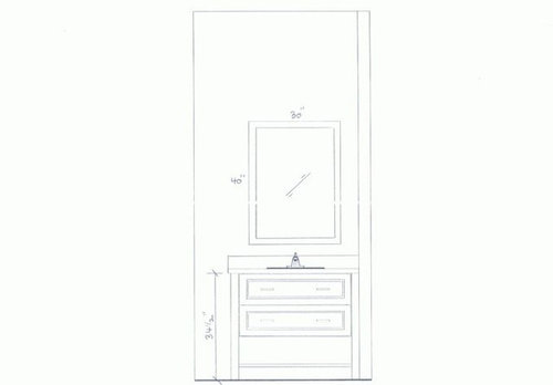 Need help with size and style of cabinet pulls