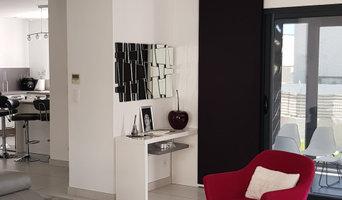 Changement de style/d'ambiance pour une maison neuve et création d'un meuble TV