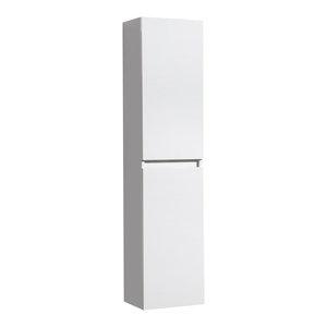 Aquamoon Vigo Bathroom Linen Cabinet, White