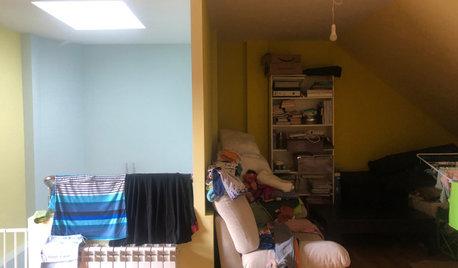 Antes y después: Una nueva buhardilla para una familia con niños