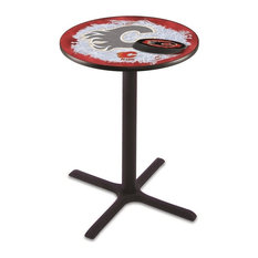 Calgary Flames Pub Table 42-inch