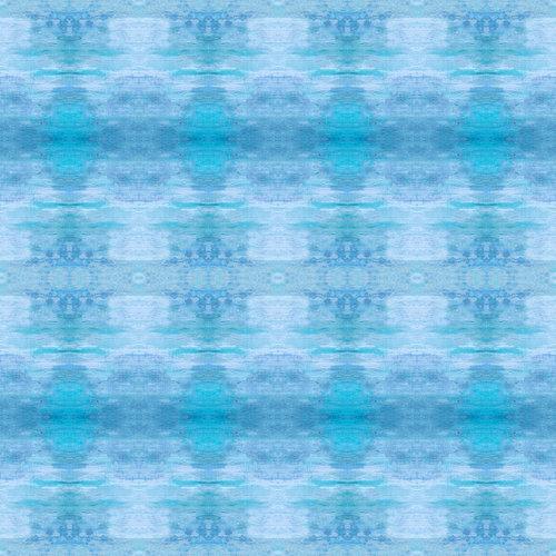 "Sharon Holmin Interiors - Improbable Skies Blue Peel and Stick Wallpaper, 12""x12"" Samples - Wallpaper"