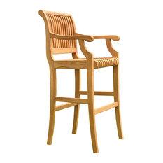 Teak Outdoor Giva Bar Arm Chair