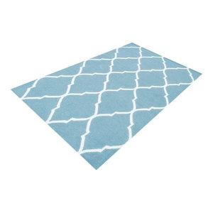 Bakero Caroline Rug, Light Blue, 140x200 cm