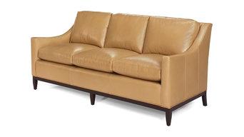 New Leather Sofa  Classic Chic  Top Grain