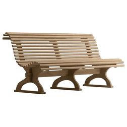 Unique Contemporary Outdoor Benches by Teak Deals