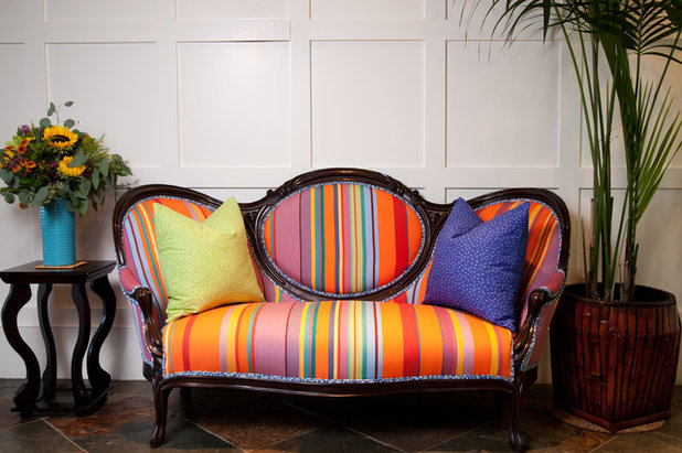 Victorian by Darci Goodman Design - The Perks And Perils Of Reupholstering Old Furniture