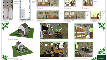 Small Cafe School Project