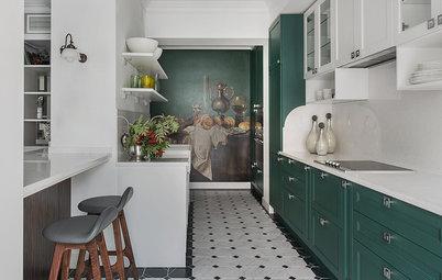 Houzz тур: Квартира, по которой можно ходить «кругами»