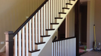 Interior Finish Carpentry, Staircase and Railing