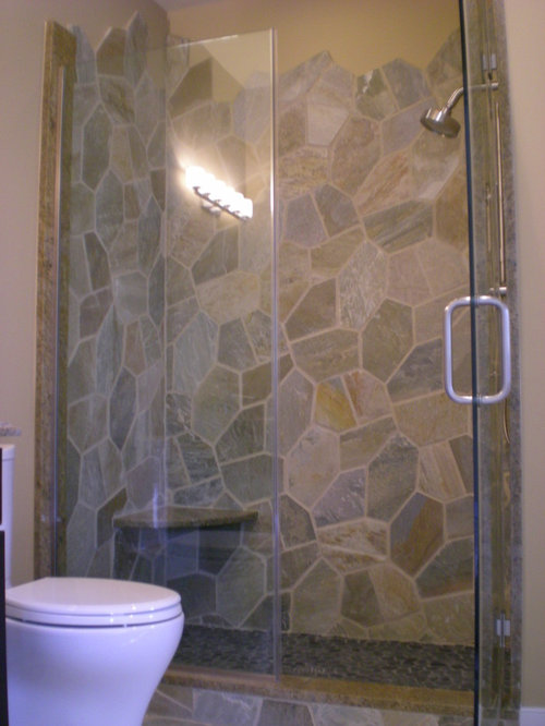 Flagstone Shower