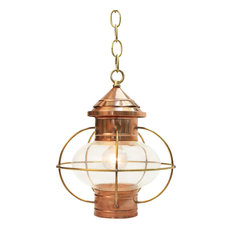 the nauset lantern shop onion hanging lantern medium globe bulb pendant lighting beach house kitchen nickel oversized pendant