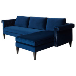Transitional Sectional Sofas by Jennifer Taylor Home