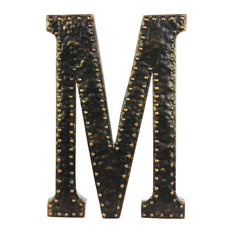 Letter M Wall Decor wall letters | houzz