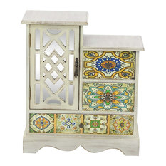"GwG Outlet Wooden Jewelry Chest, 13""x15"""