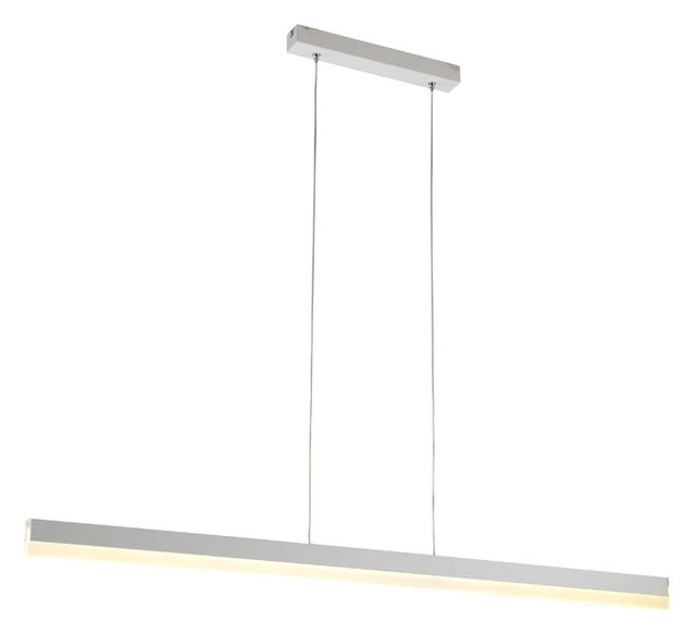 office light fixture. Contemporary Modern Linear Pendant LED Office Light Fixture, Warm White Fixture T