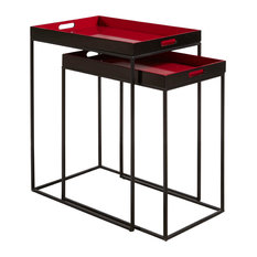 Dominic Nesting Tray Tables, 2-Piece Set