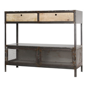 Double Zero Steel Sideboard