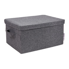 Bigso Box of Sweden Inc - Soft Storage Box Storage Large Grey  sc 1 st  Houzz & 50 Most Popular Modern Storage Bins and Boxes for 2018 | Houzz