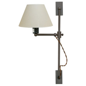 London Wall Lamp With Elevating Mechanism, White