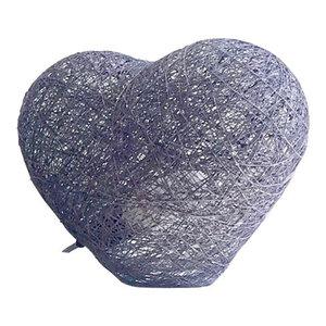 Heart Floor Lamp, Grey, Large