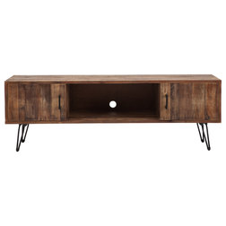 Industrial Entertainment Centers And Tv Stands by Crawford & Burke