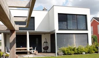 Ein modern-minimalistisches Flachdachhaus in Ingolstadt