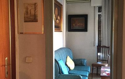 ¡Fuera tabiques! en la reforma integral de un piso en Madrid