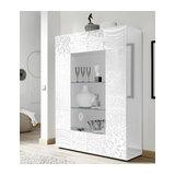 Miro (white) 2 door display unit