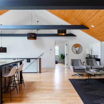 Forgotten Garage apartment gets industrial make-over