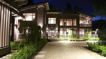 Дом из клеенного бруса 1200 кв.м