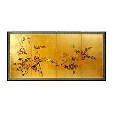 "Gold Leaf Cherry Blossom, 36"""