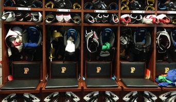 Princeton University Hockey Team's Locker Rooms