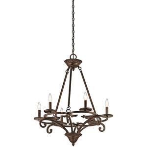 Kichler Caldella Chandleier 6-Light, Aged Bronze