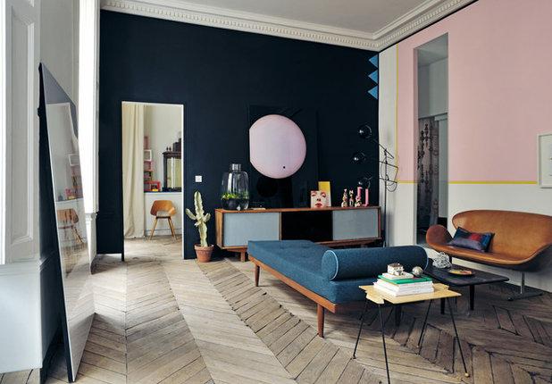 Midcentury Family & Games Room by Gestalten